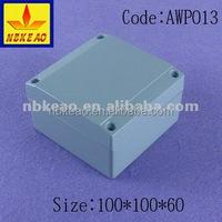 IP67 die cast aluminum waterproof electronic enclosure,aluminum amplifier enclosure box case AWP013