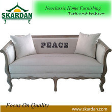 2015 most popular wood frame 3 seater sofa SF-4008
