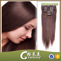 most popular in 2014 half wig clip in hair extensions for children braiding
