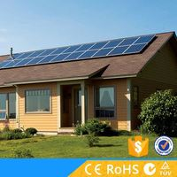 Upgrade configuration 2KW off grid rooftop solar panel mounting system