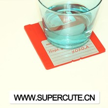 Hot Factory low price pink color price coaster