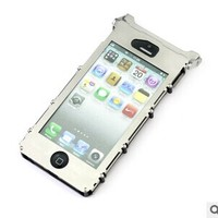 Metal Aluminum Case Iron Man Phone Case for iPhone5/5G/5S,360 degree case