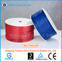 Fiber braided soft rubber tubing with connector