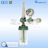 hospital use gas flow meter oxygen breathing equipment