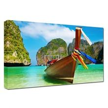 Summer Paradise Boat Seascape Photography Arts