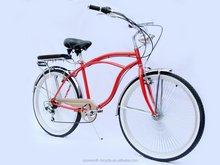 chopper style beach crusier bicycle specializ beach cruiser producer in China