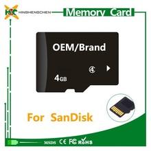 4GB 8GB 16GB 32GB 64GB 128GB for sandisk sd memory card wholesale