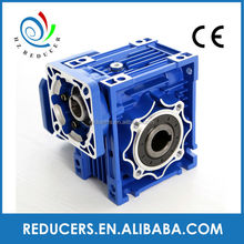 Aluminium Alloy RV series worm gear motor reducer NMRV50 ,right angle worm speed reducer
