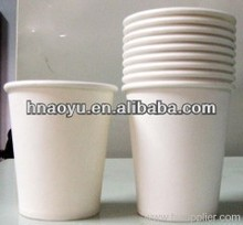 8oz disposable white paper coffee cups