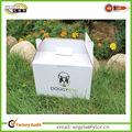 De China a dos aguas de papel caja de cartón de embalaje con mango