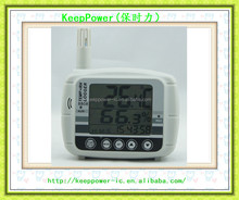 AZ8808 temperature and humidity recorder warehouse industrial precision dew point hygrometer detection alarm USB