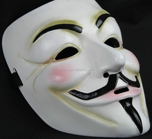 New arrival halloween cosplay wholesale v for vendetta anonymous guy fawkes mask with latest design for sale MK4077