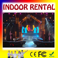 New xxx images full color hd rental led display p3.91 indoor rental led display /die-cast rental led display