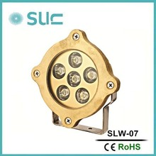 6*1w or 6*3w led underwater fountain light,led fountain waterproof light,full color change led fountain light