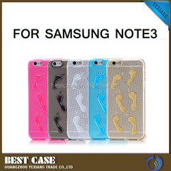 High quality funny silicone phone case tpu cell phone case for samsung galaxy note 3