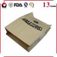 Custom printing kraft paper coffee bag