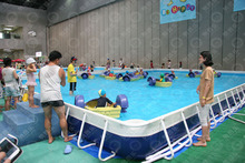 Giant hot selling pools, above ground swimming pool for kids adults