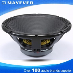 LF18G401 100mm/4inch coil 500W 18inch professional karaoke subwoofer line array speaker audio for bass music