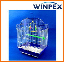 Folding wire mesh bird cage