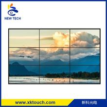 55 inch wall mount narrow bezel lcd video wall with HDMI/VGA/DVI input