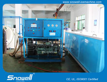 Industrial high production containerized 5tons/day block ice machine plant