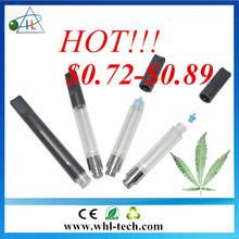 Slim E Cigarette O-Pen Vape Cartridge 510 Atomizer Disposable Cbd CO2 oil Cartridge hemp oil empty silicone cartridge 0.4-1.0ml
