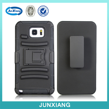 3 in 1 pc silicone belt clip holster case for samsung galaxy note 5