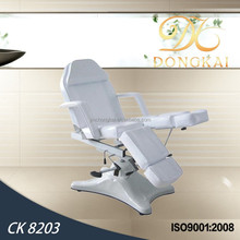 2015 cosmetic table & white cosmetic hydraulic massage bed table( CK 8203)