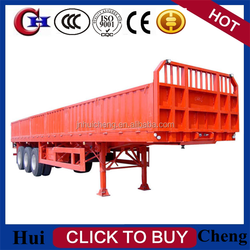 2015 hgh quality 2/3 axles sidewall trailers or cargo trailer for cargo transport on sale