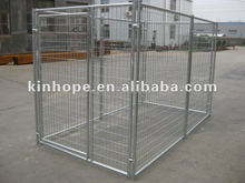 America standard heavy duty welded wire dog kennel with door lock