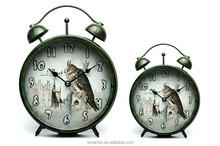 Antique brass table clock sale