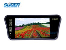 Suoer 7 inch rearview monitor LED LCD monitor for car rearview mirror monitor