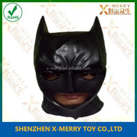 X-MERRY Factory Price Rubber Latex Batmen Mask For Kids Fancy Dress Halloween Superhero Cosplay Costume Party Mask For Carnival