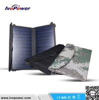 High efficiency solar kit, 12w waterproof solar panel kit, newest portable flexible outdoor solar panel kit