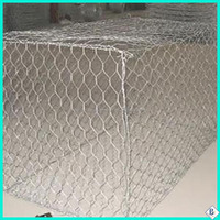 durable pvc coated galvanized stainless steel gabion basket for sale