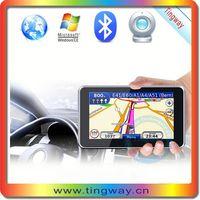 5'gps navigation mirror gps windows ce with FM,MP3,MP4,av in,bluetooth gpsmap