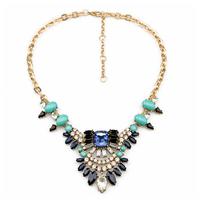 Statement Fashion Women Jewellery Resin Pendant Fashion Necklace