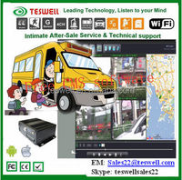 4CH D1 3g mobile DVR