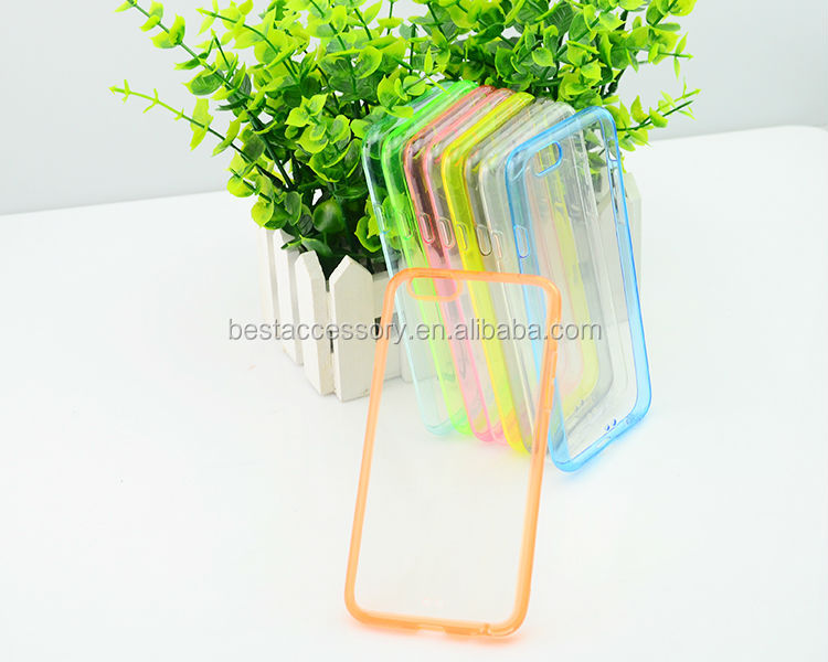 Ultra Thin Transparent Plastic Case For iphone 6,for iphone 6 Hard case