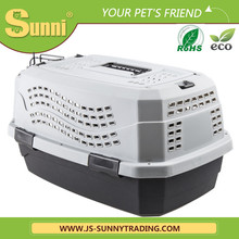 Pet products cage with wheels pet carrier