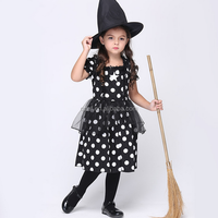 cute baby girl kids cosplay harry potter witch costume,witch dance costume