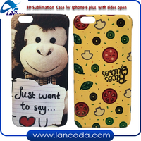 Custom Design cheap mobile phone cover 3d Sublimation Phone case for iphone6s/iphone 6S + plus