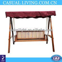Hammock 3 seater garden swing bench swing wooden swing