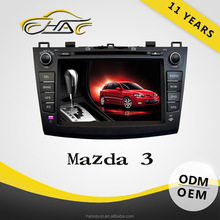 7 inch dvd player with usb/sd card and mic port for mazda 3 car audio