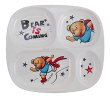 Melamine child's plate