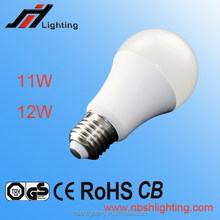 CE ROHS Factory sale A60 11W 12W E27 LED BULB LIGHT