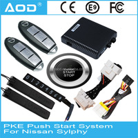 For Nissan Sylphy auto smart keyless entry push button start stop system