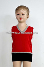 Wool sleeveless base layer shirt