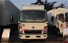 12wheel refrigerated cargo van in China