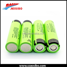18650 3.7v li-ion flat pack ncr18650 rechargeable battery Japan 3400mah ncr18650b popular battery